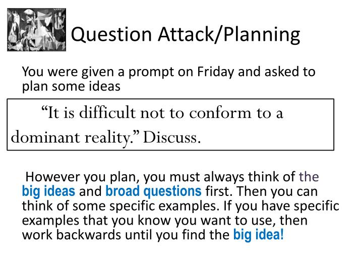 Question Attack/Planning
