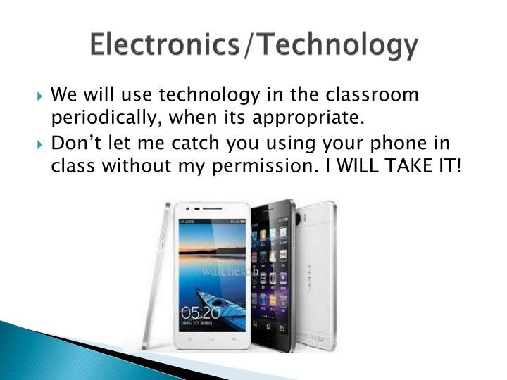 Electronics/Technology