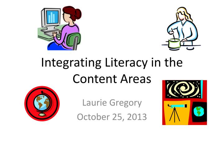 integrating literacy in the content areas n.