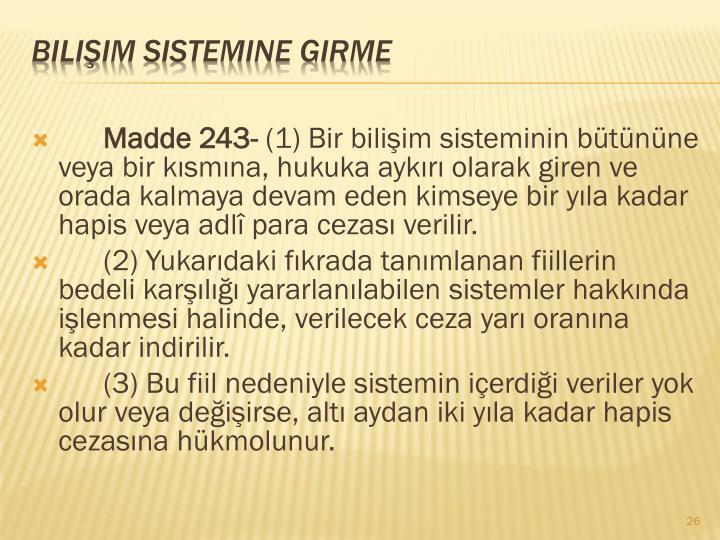 Madde 243-