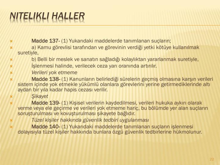 Madde 137-