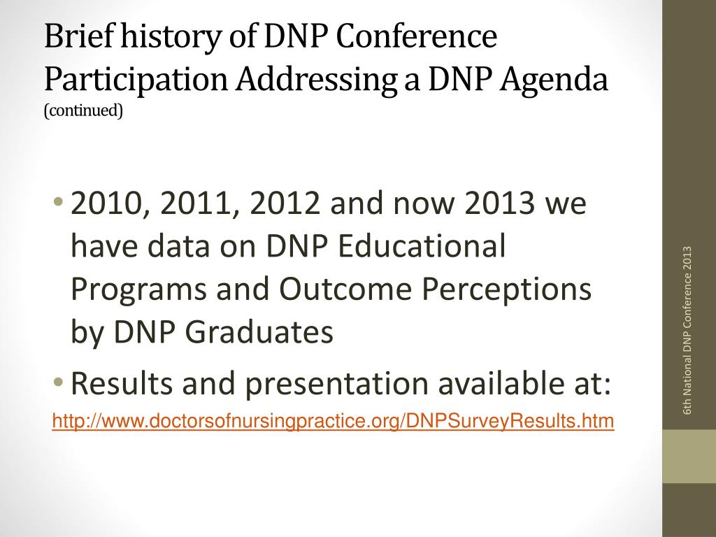 PPT - Charting the Course for the DNP by the DNP PowerPoint