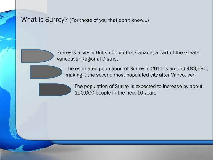 What is Surrey?