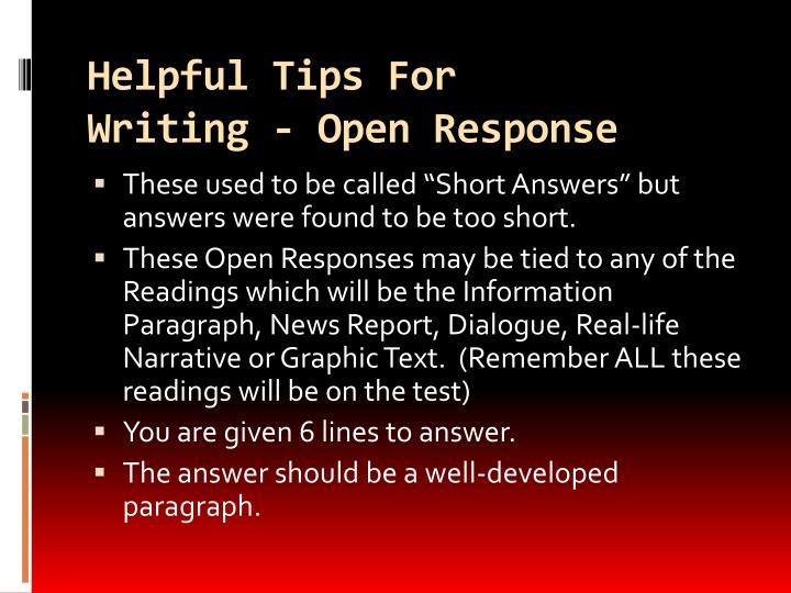 Helpful Tips For