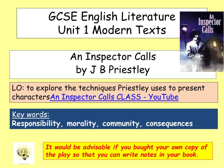 gcse english literature an inspector calls coursework Aqa gcse english literature an inspector calls essay/coursework english literature an inspector calls an inspector calls an gcse english literature aqa.