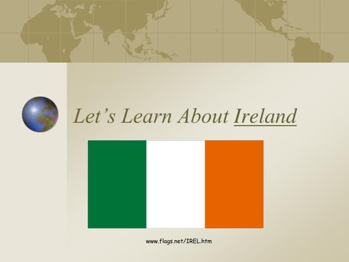 let s learn about ireland n.
