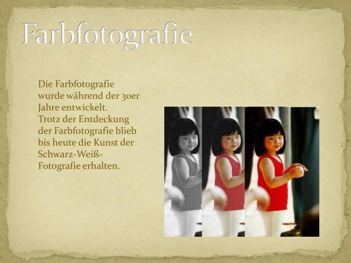 Farbfotografie