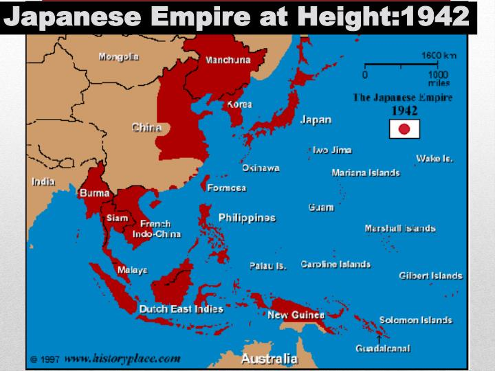 Japanese Empire at Height:1942