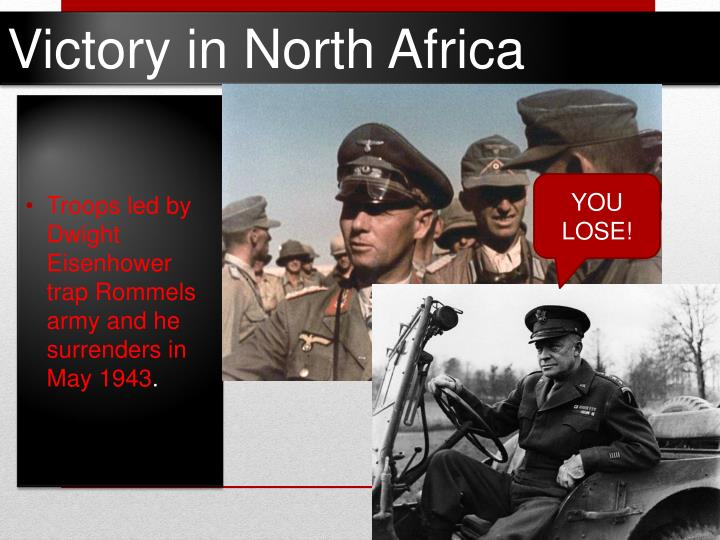 Victory in North Africa