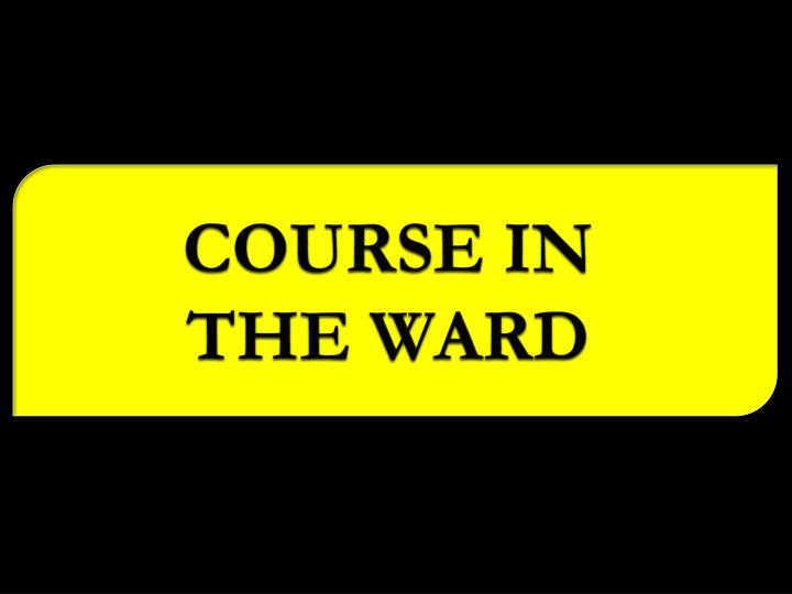 COURSE IN