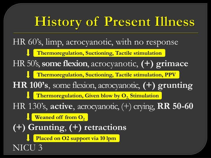 History of Present Illness