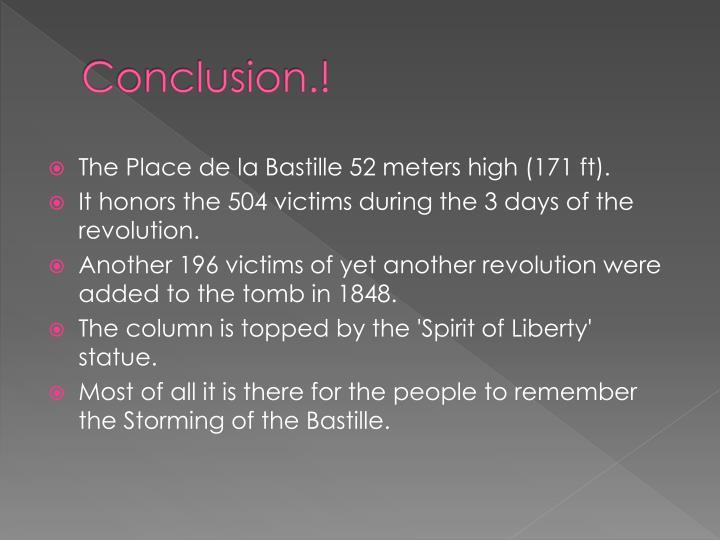 Conclusion.!