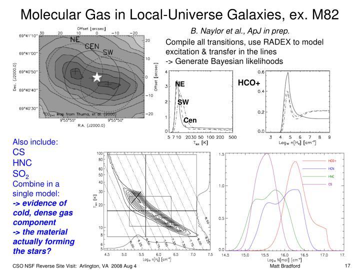 Molecular Gas in Local-Universe Galaxies, e