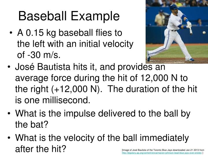 Baseball Example