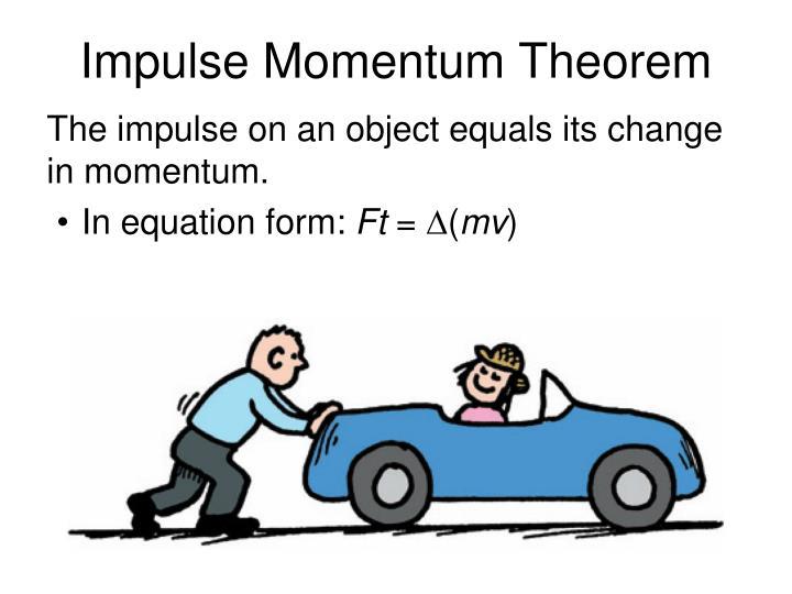 Impulse Momentum Theorem
