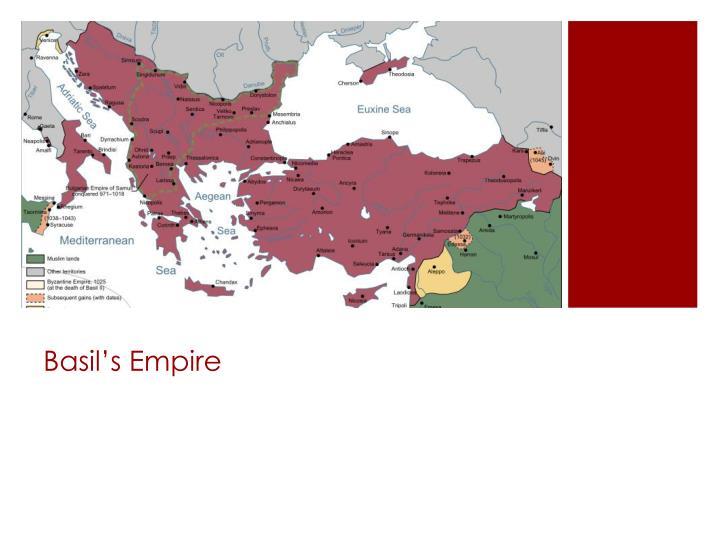 Basil s empire