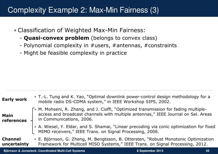 Complexity Example 2: