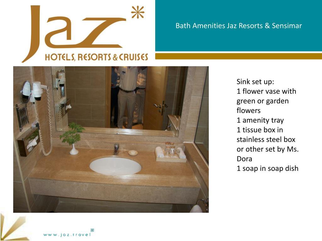 Bath Wadrobe Amenities Jaz Resorts