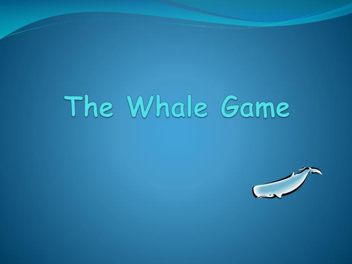 the whale game n.