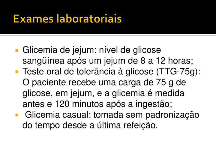 Exames laboratoriais