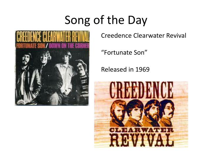 creedence clearwater revival fortunate son mp3 download free