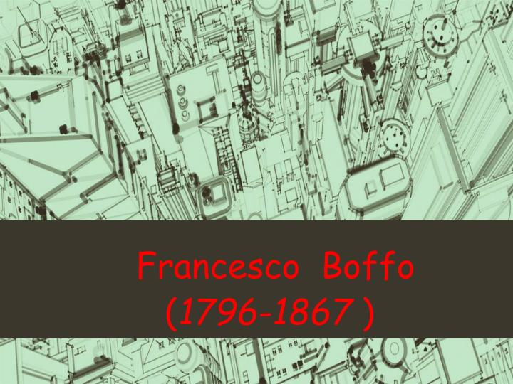 Francesco boffo 1796 1867