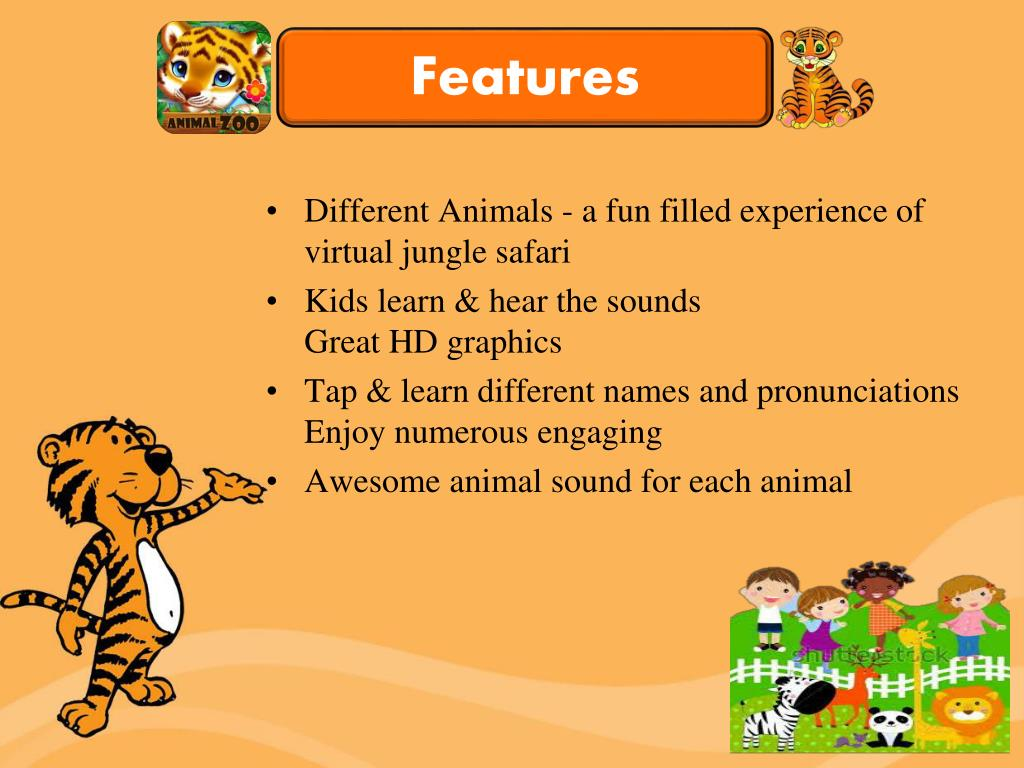 PPT - The Animal Zoo - Latest Zoo Game for Kids PowerPoint
