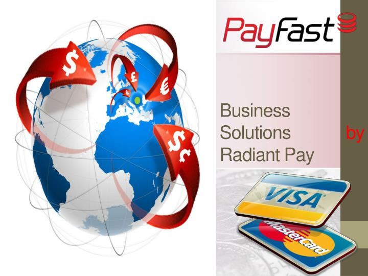 business solutions by radiant pay n.