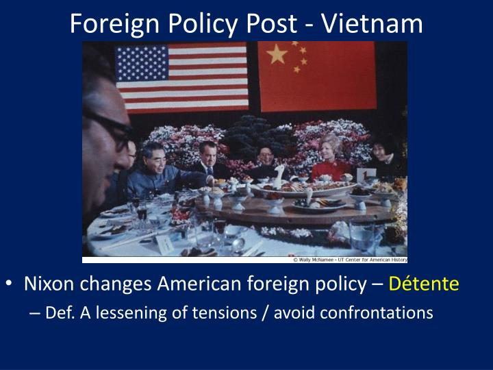 Foreign Policy Post - Vietnam