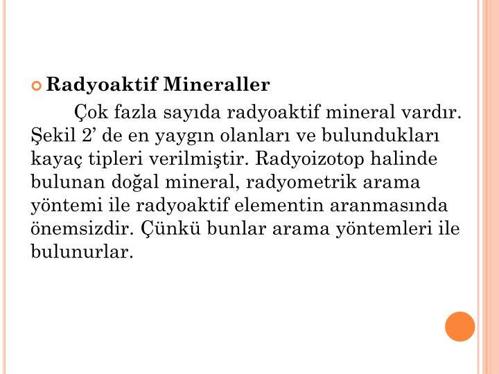 Radyoaktif Mineraller
