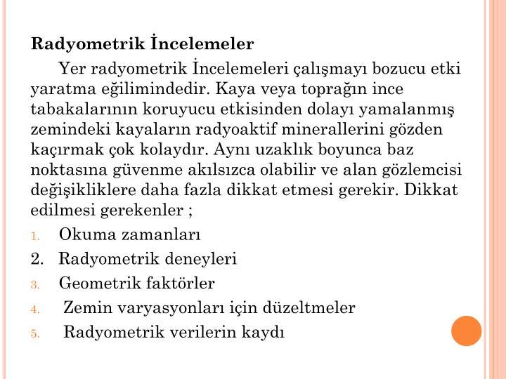 Radyometrik