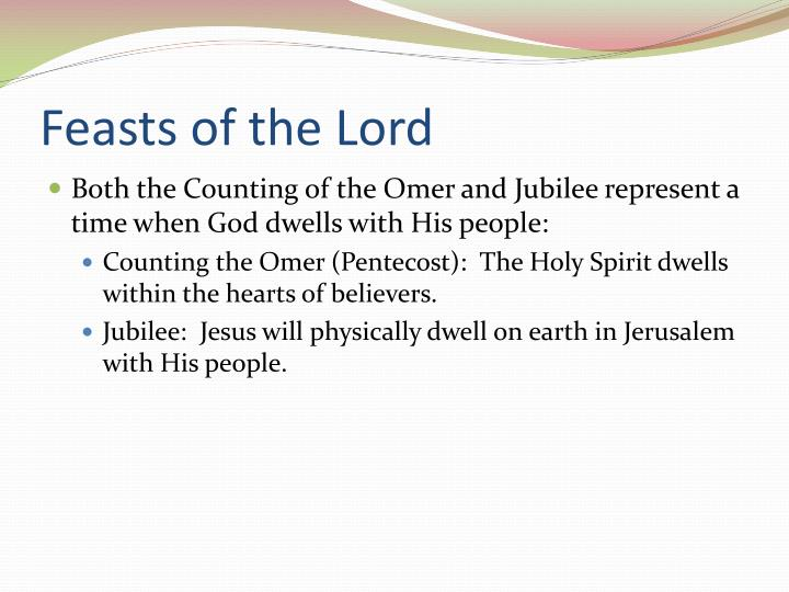 Feasts of the Lord