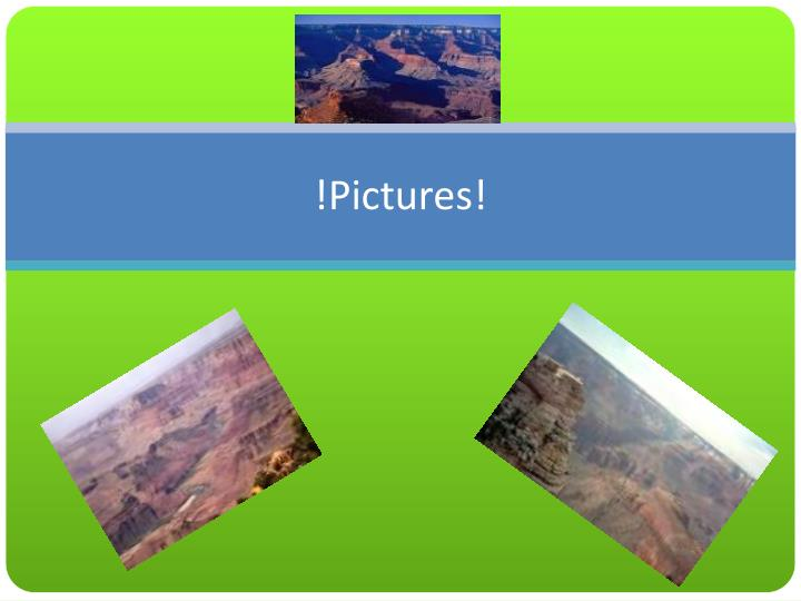 !Pictures!