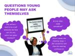 questions young people may ask themselves