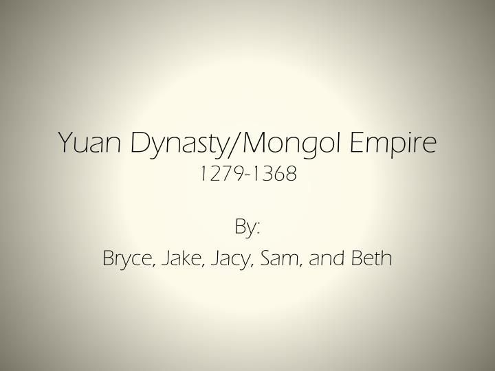 which dynasty did kublai khan established in china in 1279