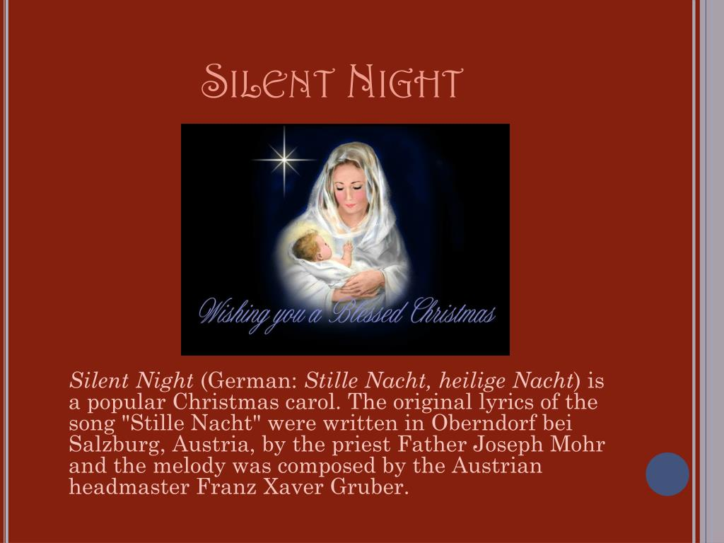 PPT - Christmas Carols PowerPoint Presentation, free download - ID:2342139