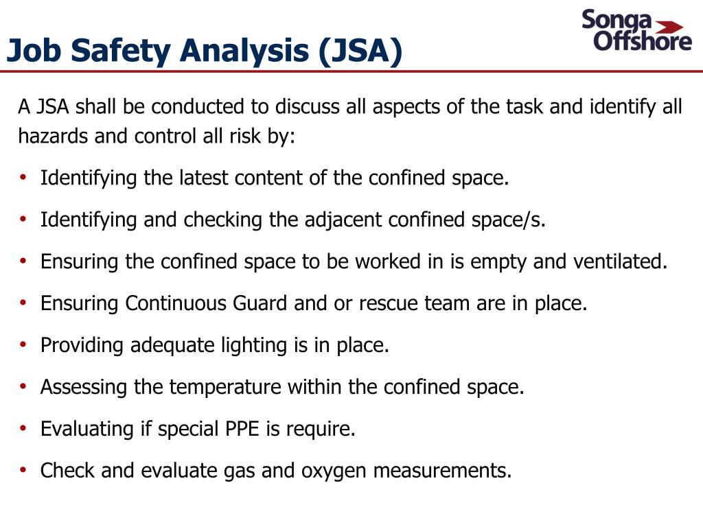 PPT - Confined Space Entry Procedure Awareness Presentation