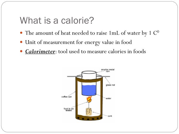 What is a calorie?