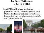 la f te nationale le 14 juillet