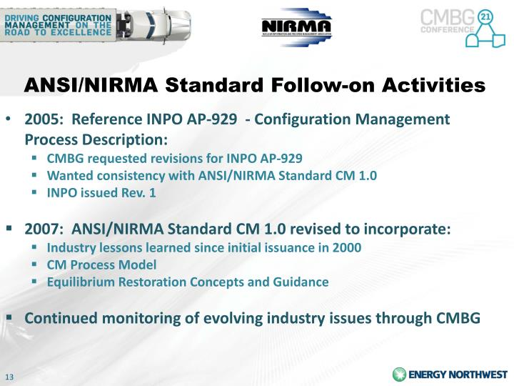 ANSI/NIRMA Standard