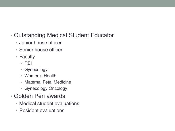 Outstanding Medical