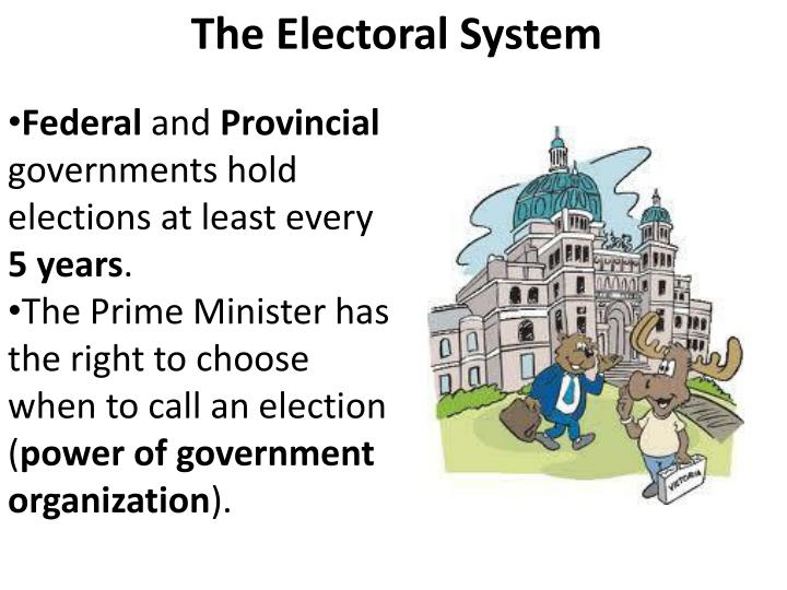 government and electoral systems 2 1 introduction electoral systems, or the manner in which votes cast in a general election are translated into seats in the legislature, matter because they influence key governance dimensions and dynamics.