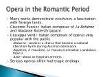 opera in the romantic period