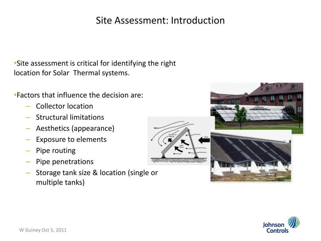 PPT - Solar Energy Systems in the Midwest William Guiney