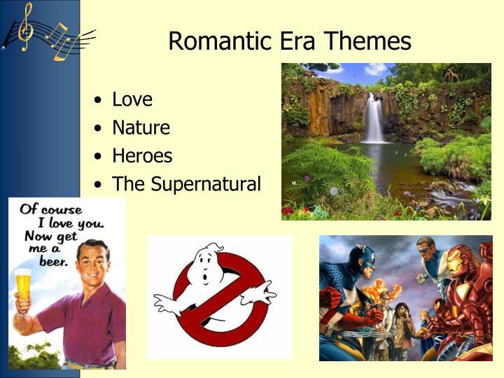Romantic era themes