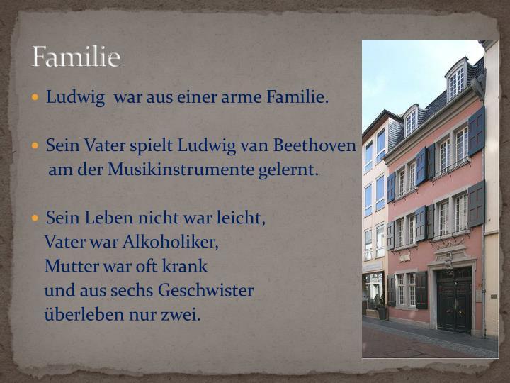 familie - Beethoven Lebenslauf