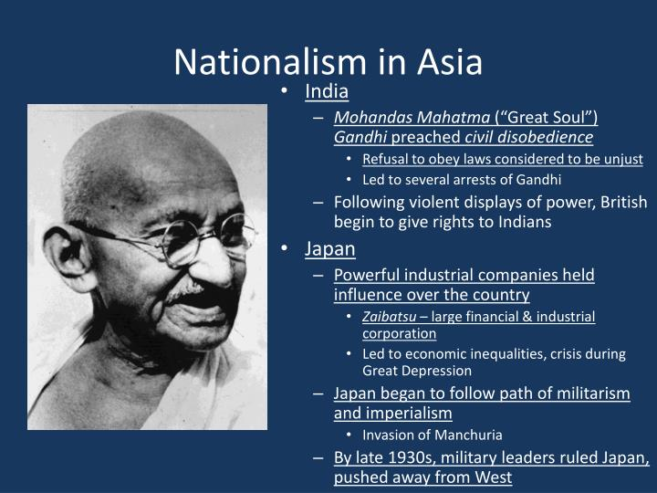 Nationalism in Asia