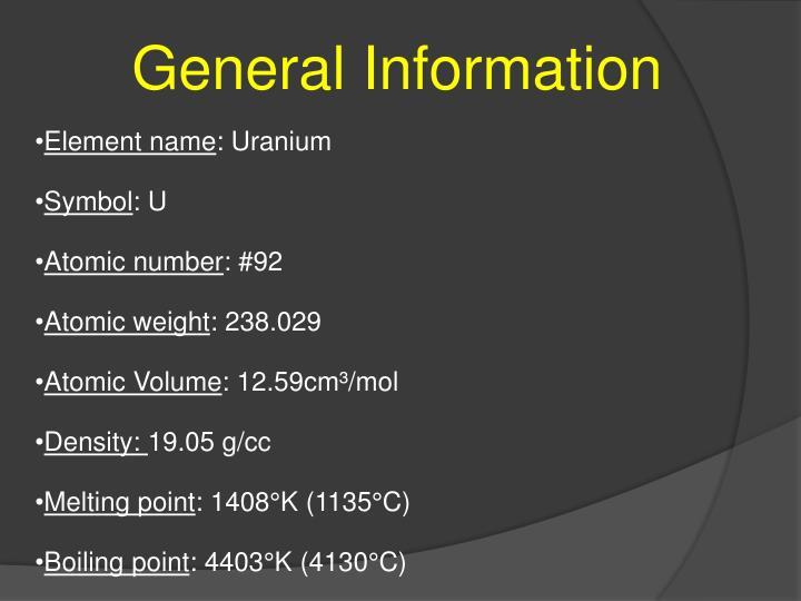 Ppt Uranium Powerpoint Presentation Id2344273