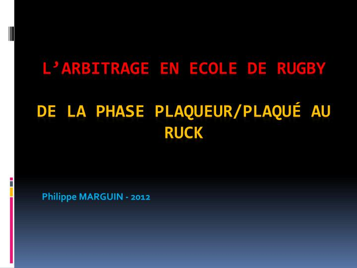 philippe marguin 2012 n.