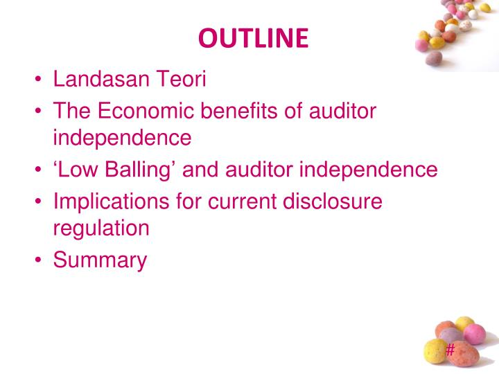 lack of auditor independence adverse impact The commission's existing auditor independence rule has already had an adverse impact on the number of choices available to investment company audit committees when selecting auditors.